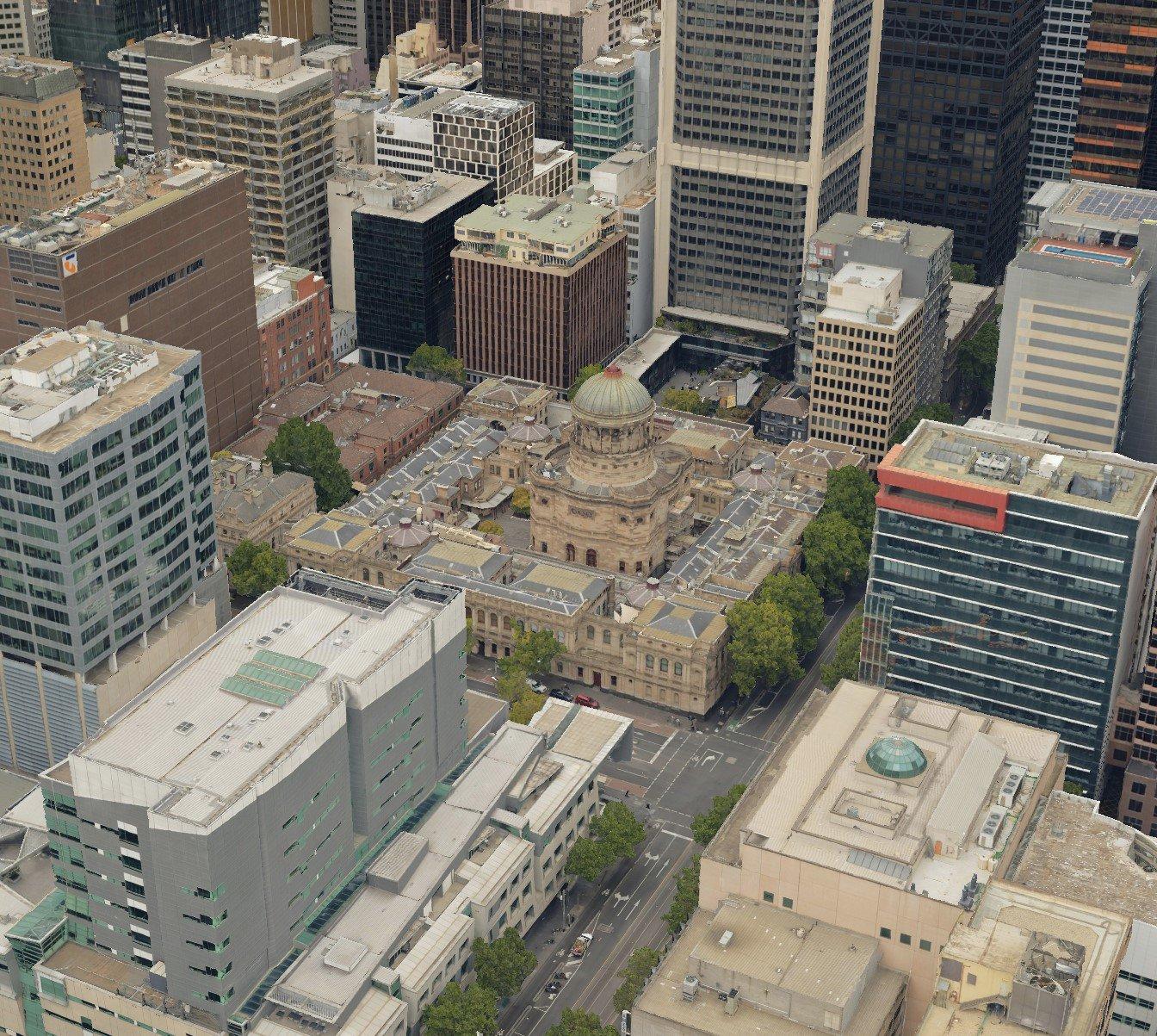 Melbourne 3D High Res Model_2021_MetroMap
